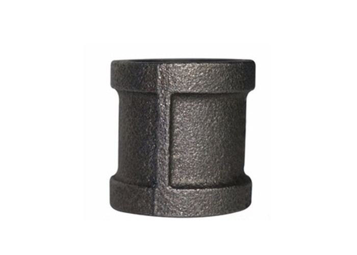 Black Industrial Fire Fighting Pipe Fittings , Equal Socket Weld Tube Fittings